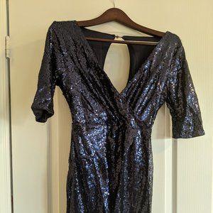 Shein Blue Sparkly dress
